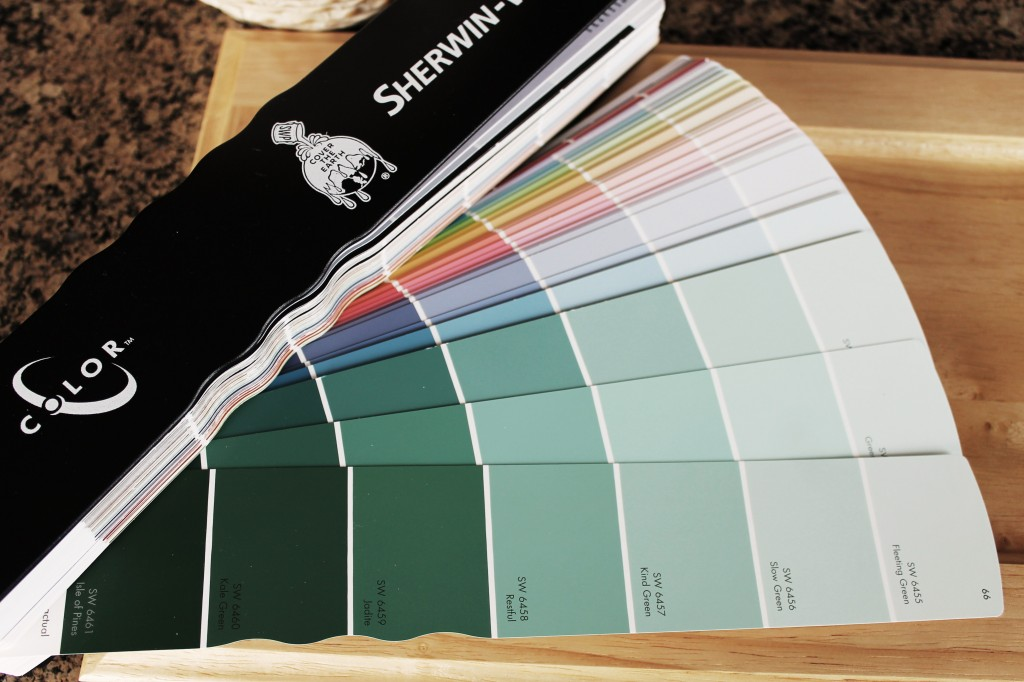 SW paint swatches