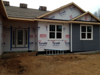 siding on front