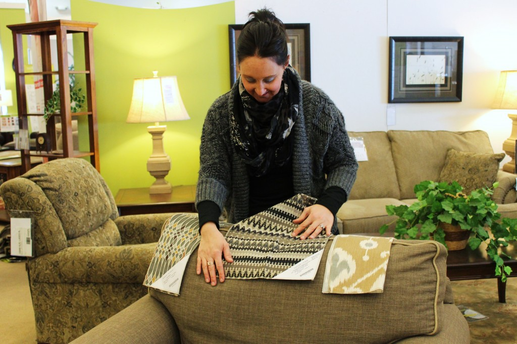 tricia shops for furniture