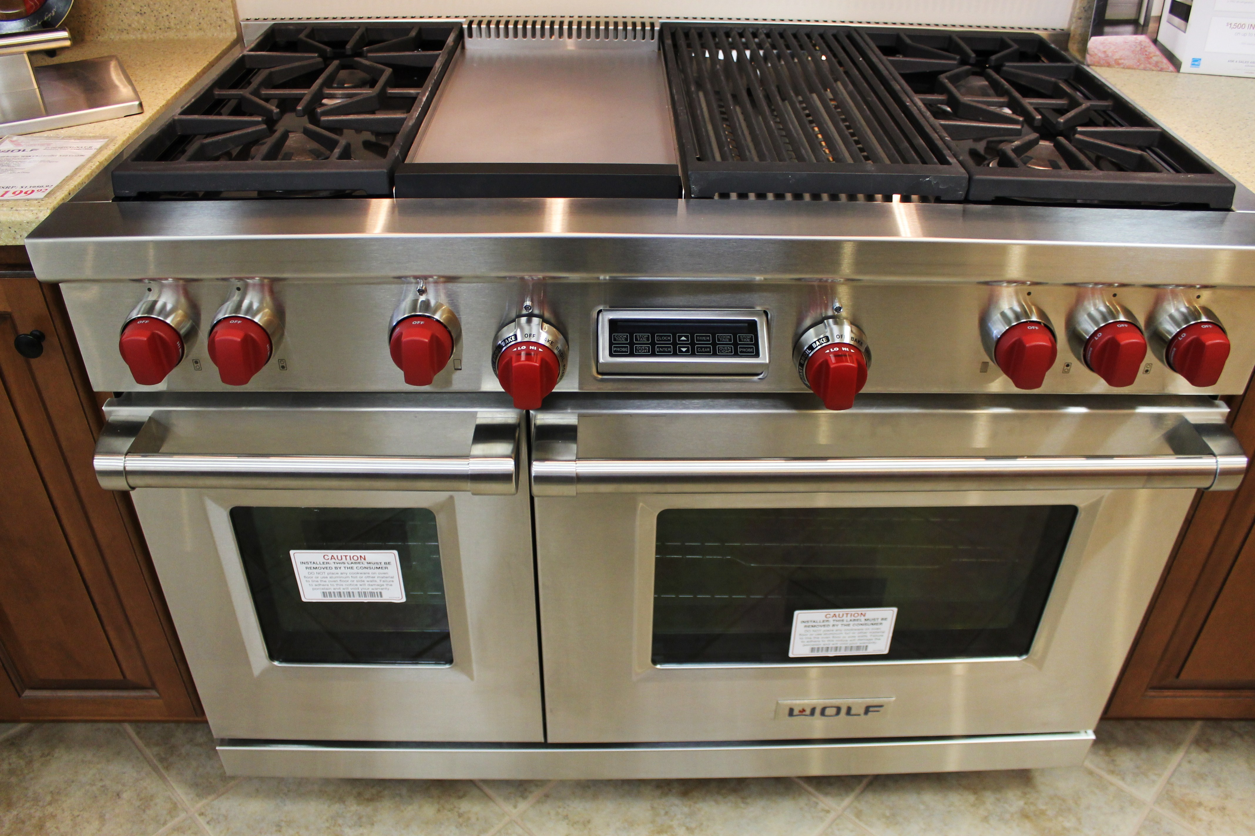 Uncategorized Professional Grade Kitchen Appliances meet the millers appliances katie jane interiors this is wolf gas range that comes with a griddle feature in middle for those of you who dont want ordinary you