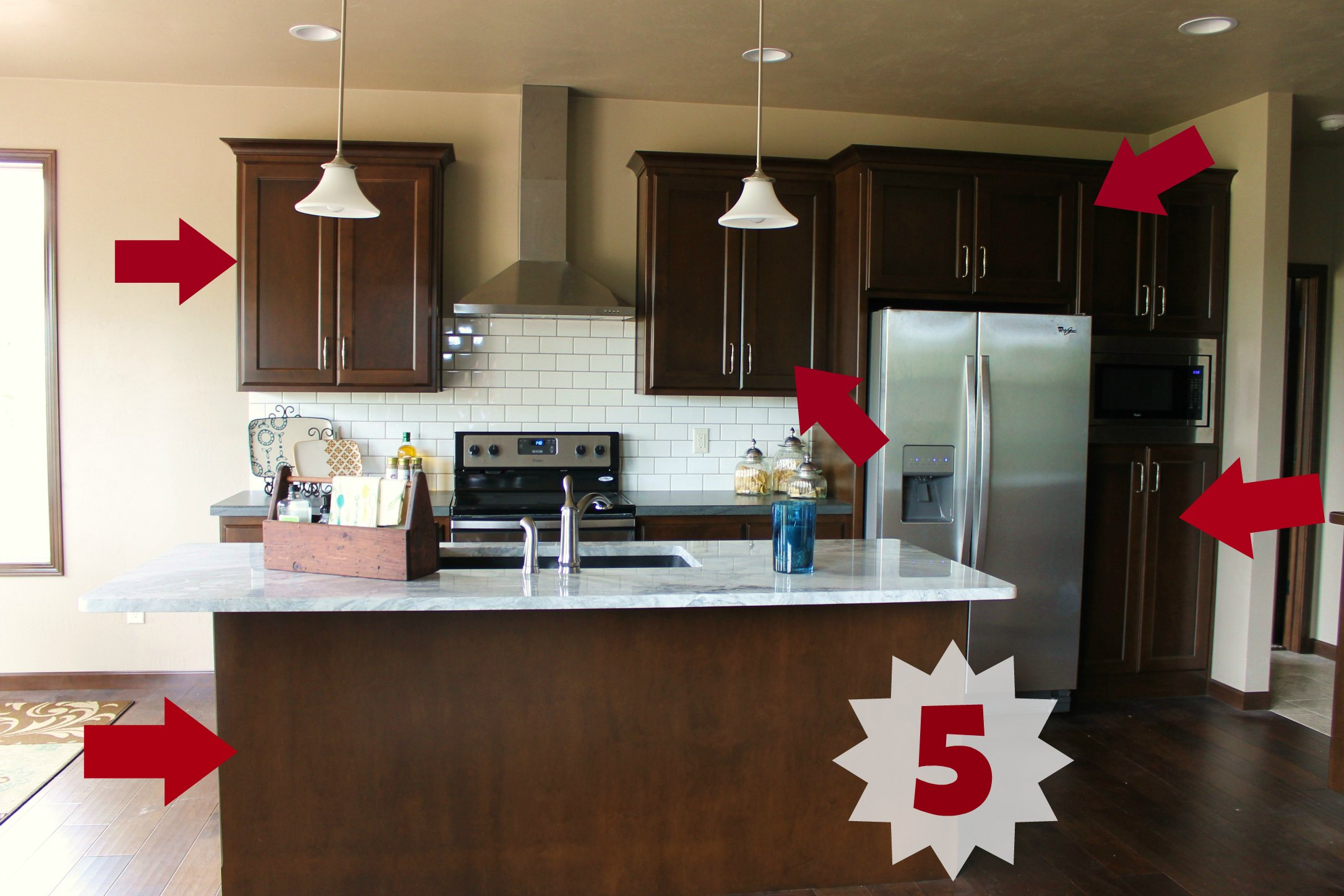 Kitchen Message Center How To Solve All Your Storage Issues With This Mdh Home Design