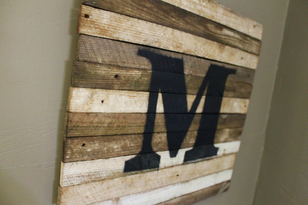 M is for Miller done