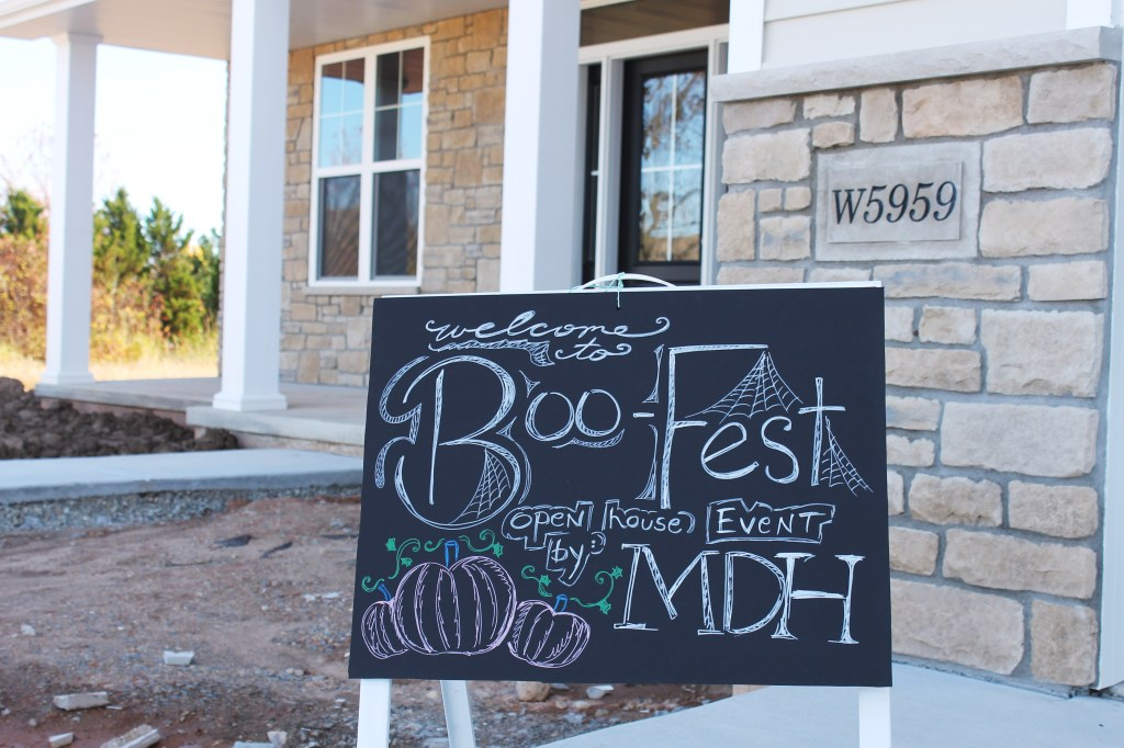 boo-fest sign