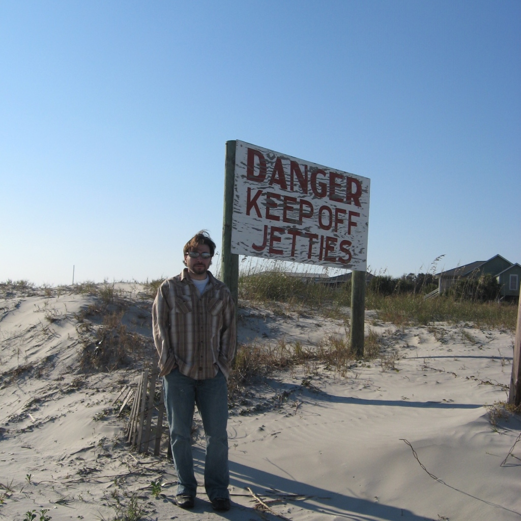 keep off the jetties