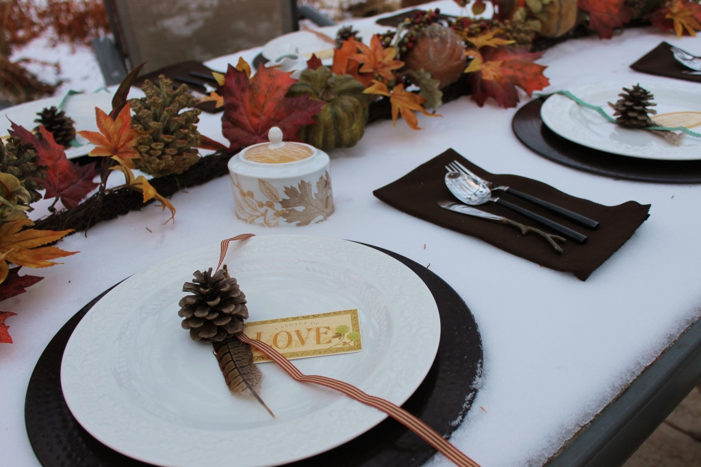legacy of love place setting