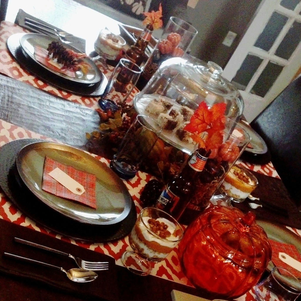 thanksgiving table 2013