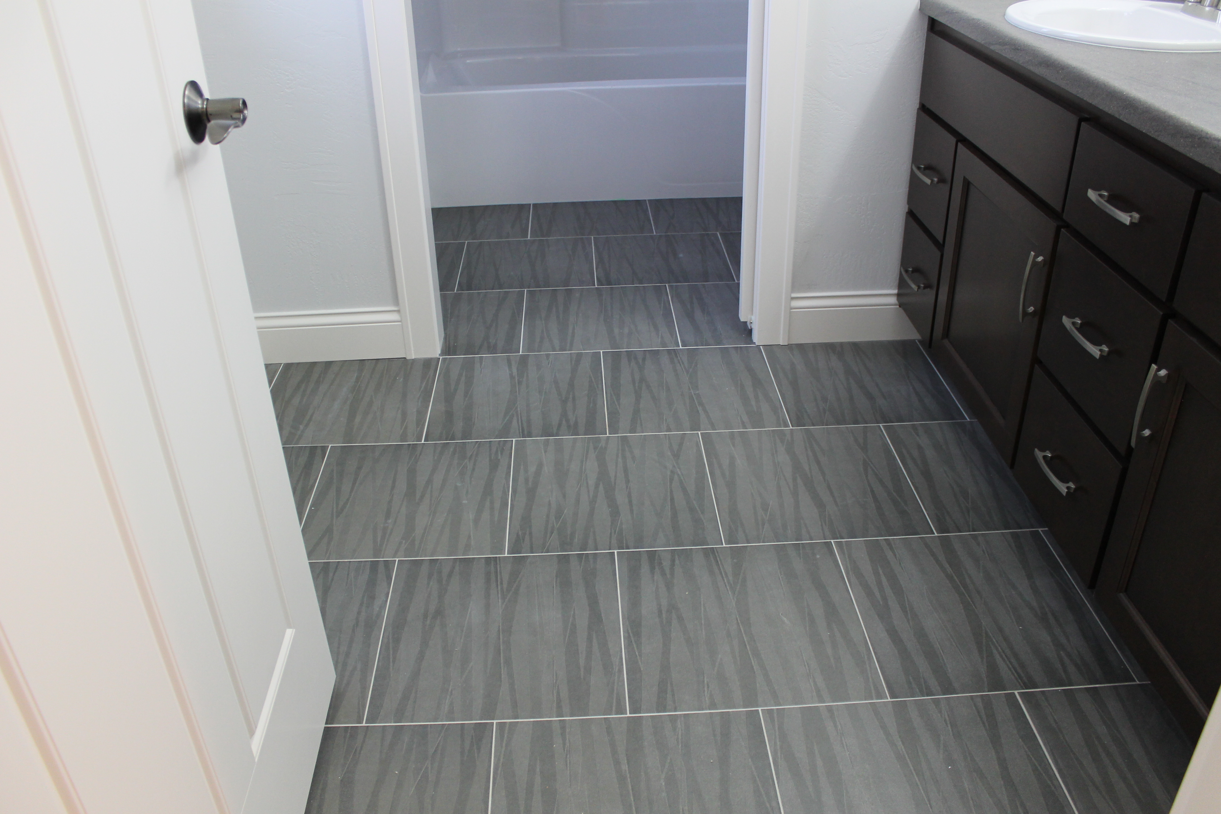 Grey bathroom floor tiles elegant purple grey bathroom Images of bathroom tile floors