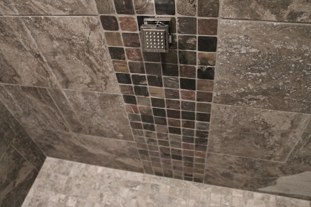 tile shower mosaic lytle