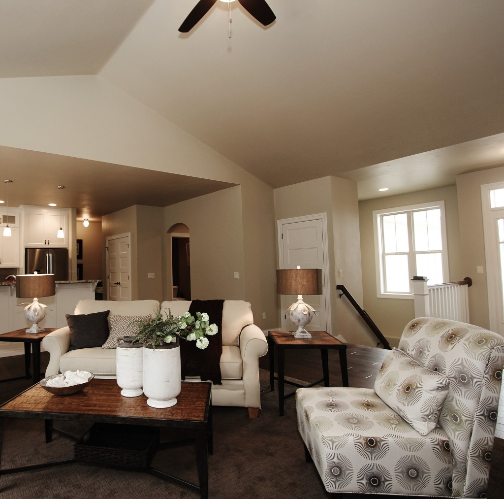 maple living room open concept