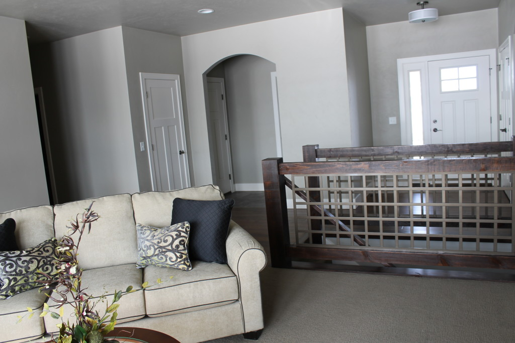 open concept foyer and great room