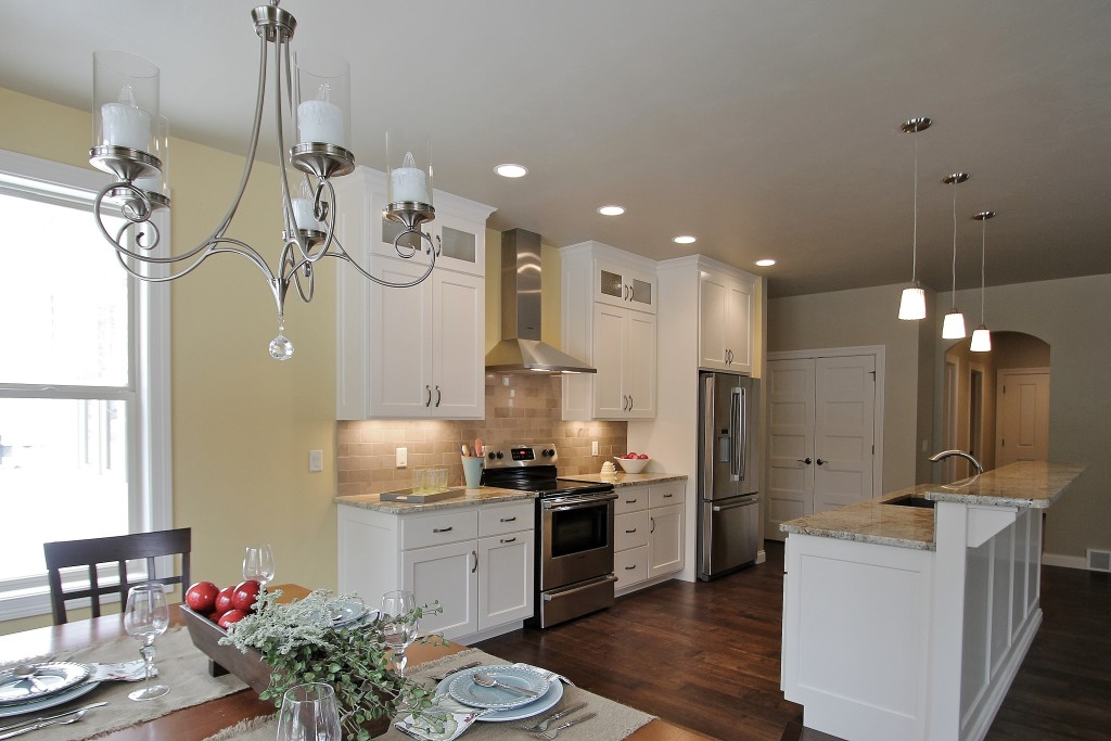 white french provincial kitchen modern