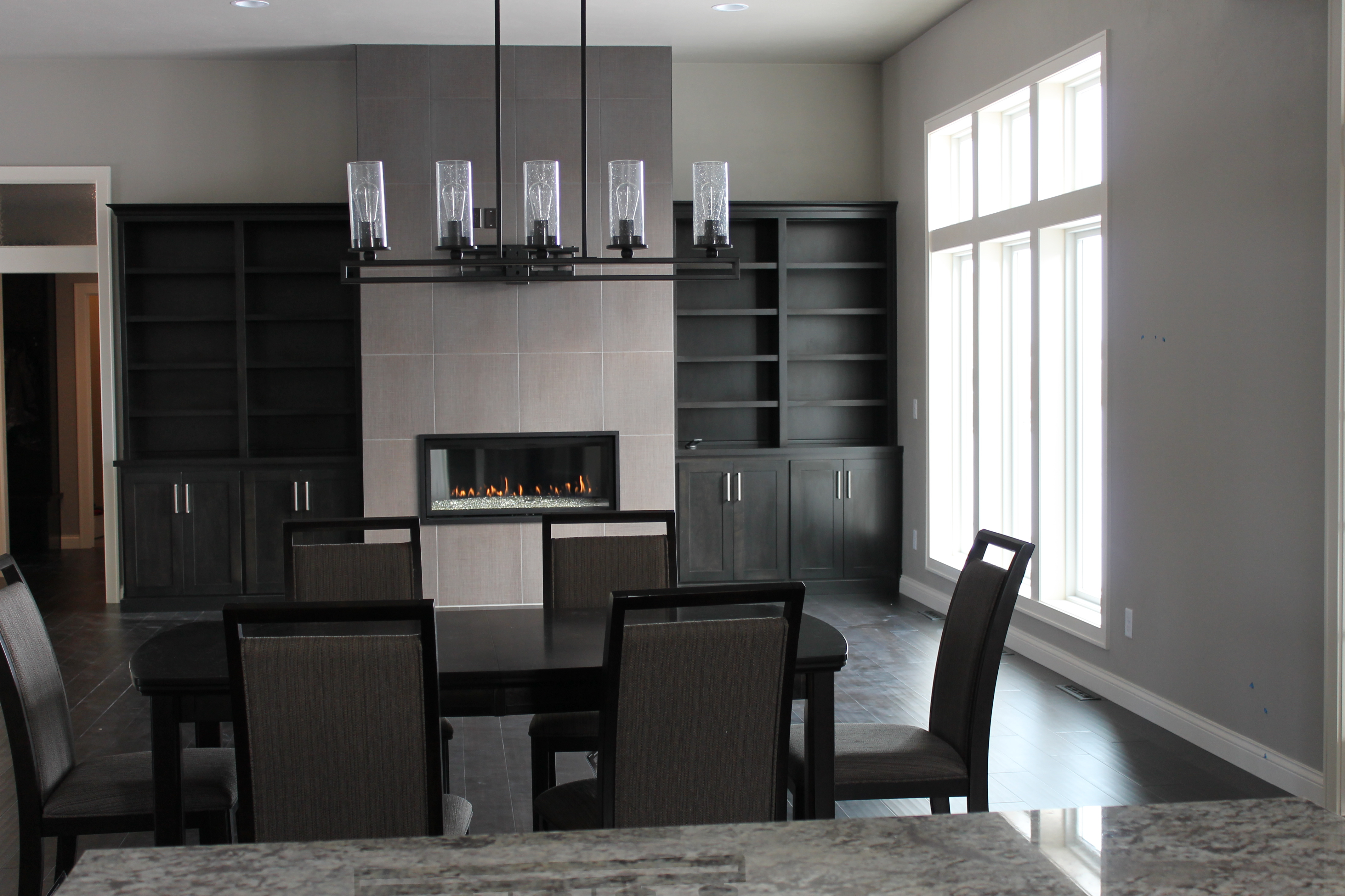 Adding built ins to the new home katie jane interiors for Contemporary built ins
