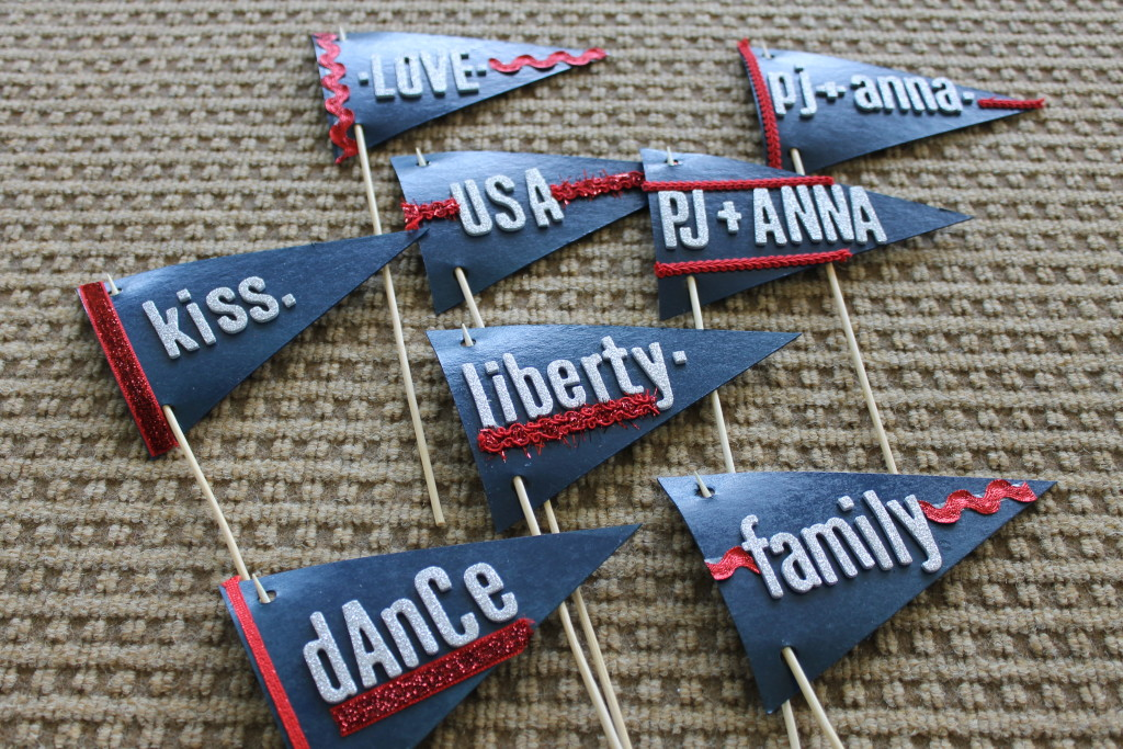 pennants for wedding