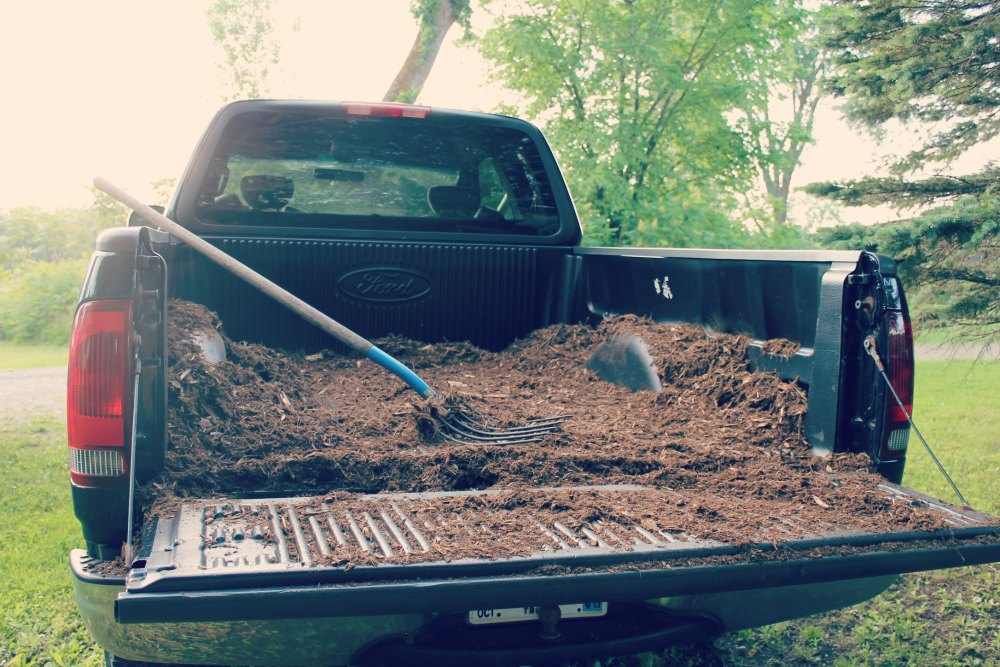 truck with mulch 30 days