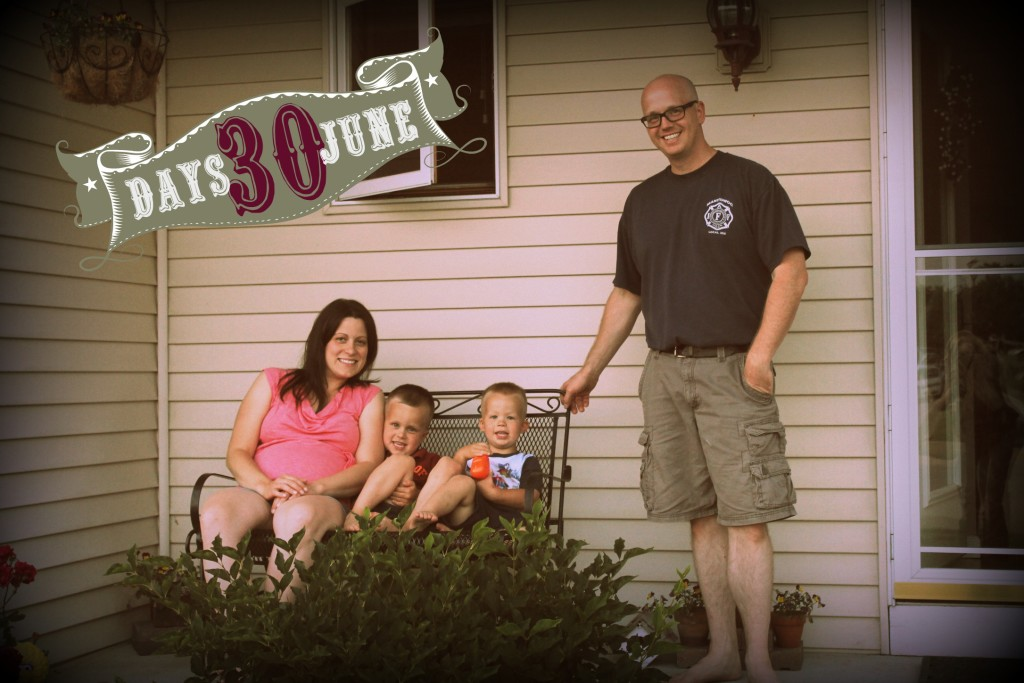 Cerkas family 30 days of June 2015
