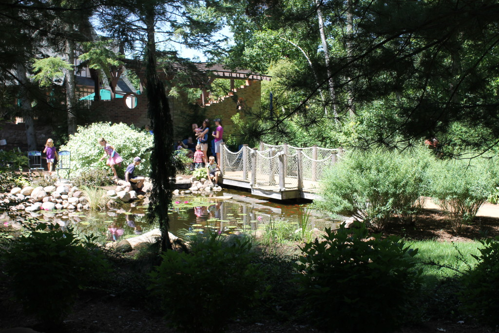 Six ideas to steal from my visit to bookworm gardens for Koi pond music