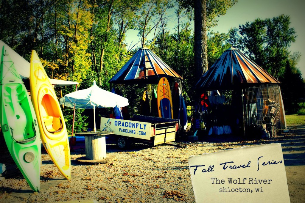 Fall travel seriesThe Wolf River