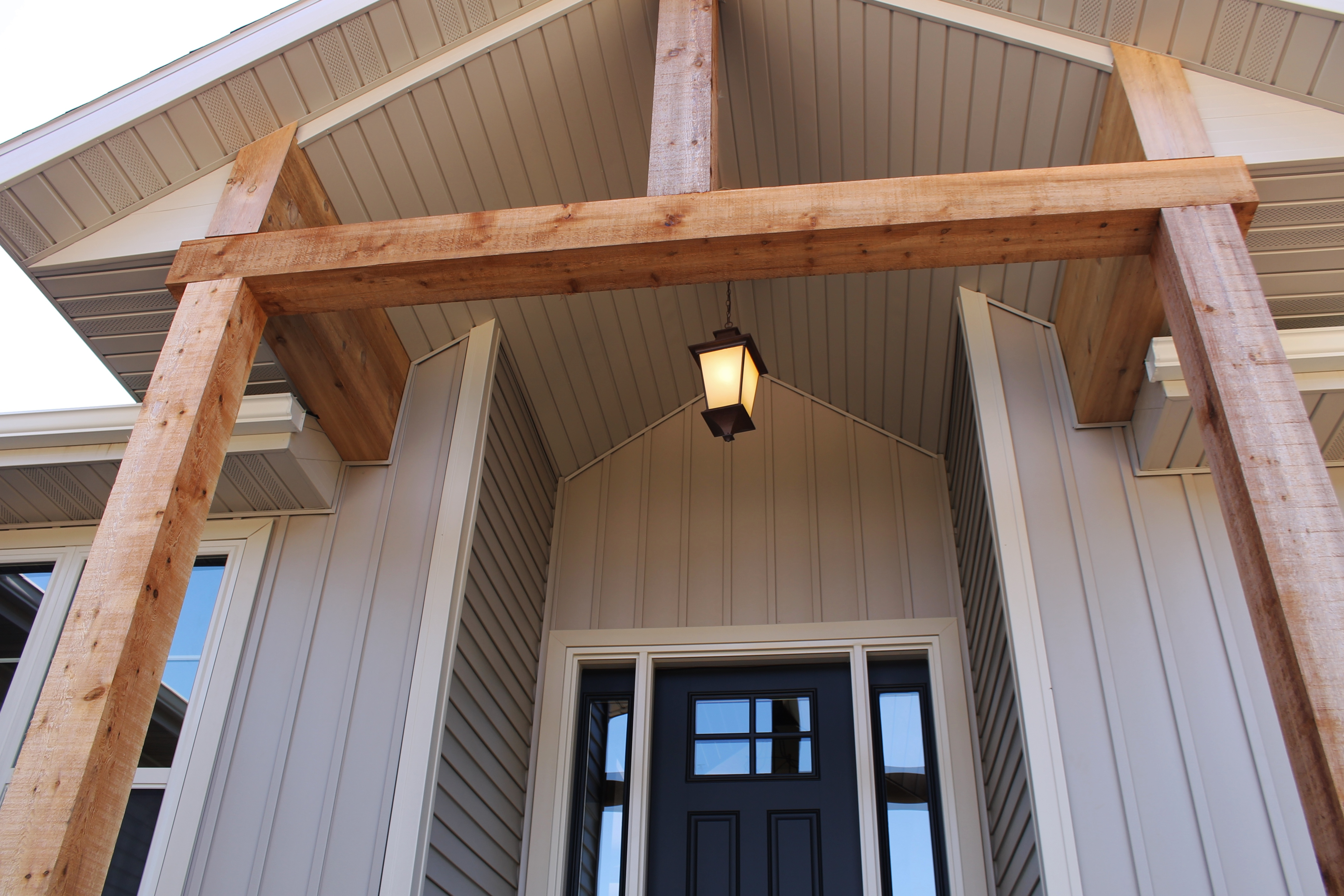 Dressing Up The Exterior With Gable Details Katie Jane
