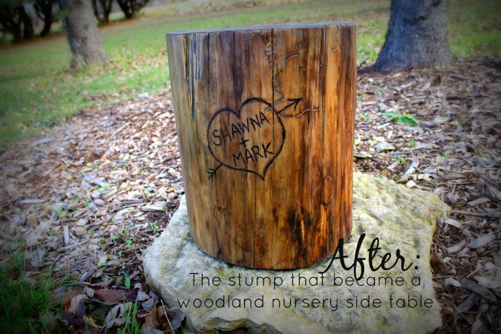 after the stump table