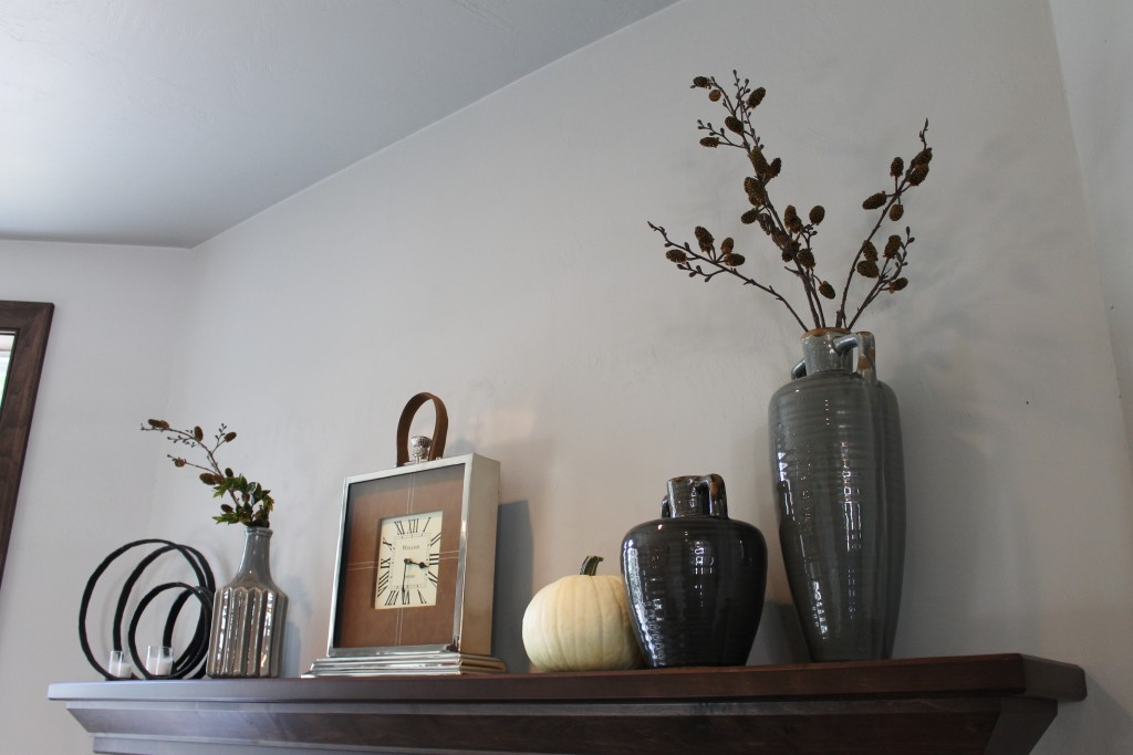 classy and simple fall mantle