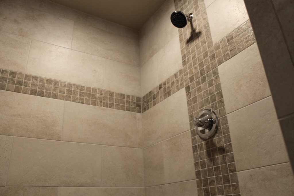 5332 accent tile in master shower