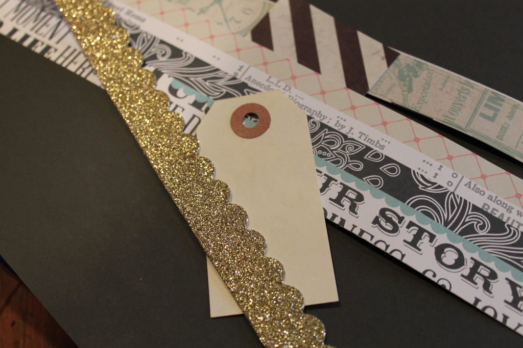 scrapbook tags and decor
