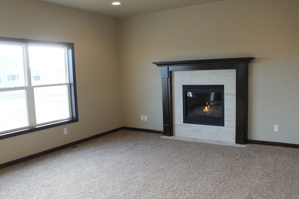 5335 fireplace on center wall in living room