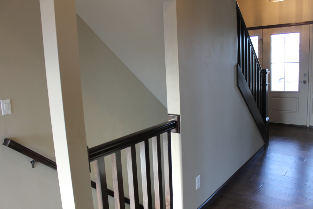 5335 open railing to lower level