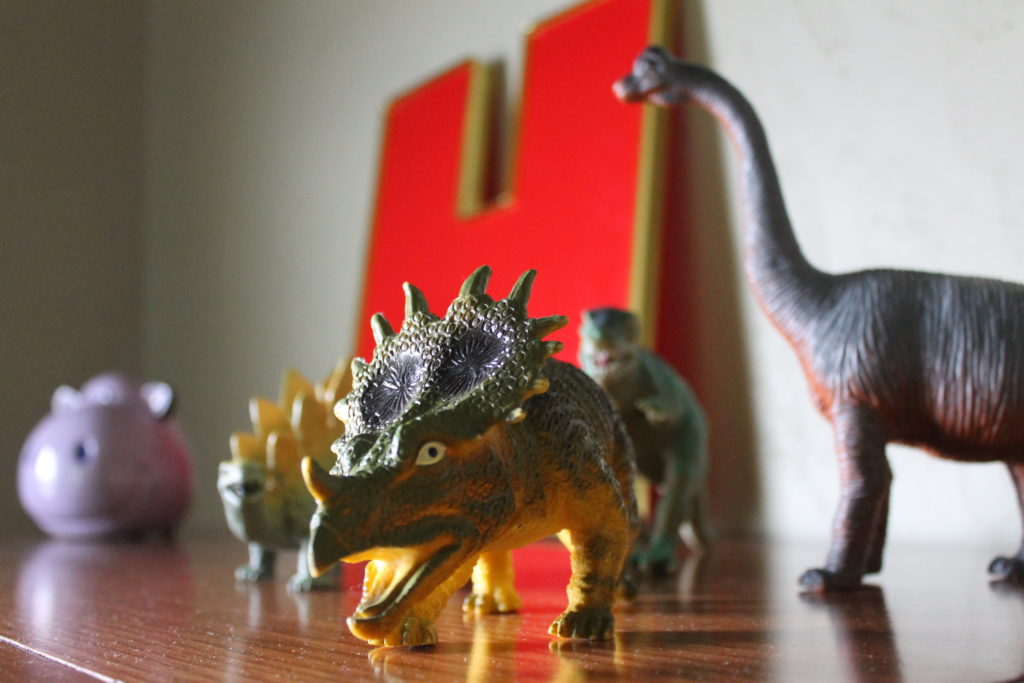 dinosaurs mitchell color story