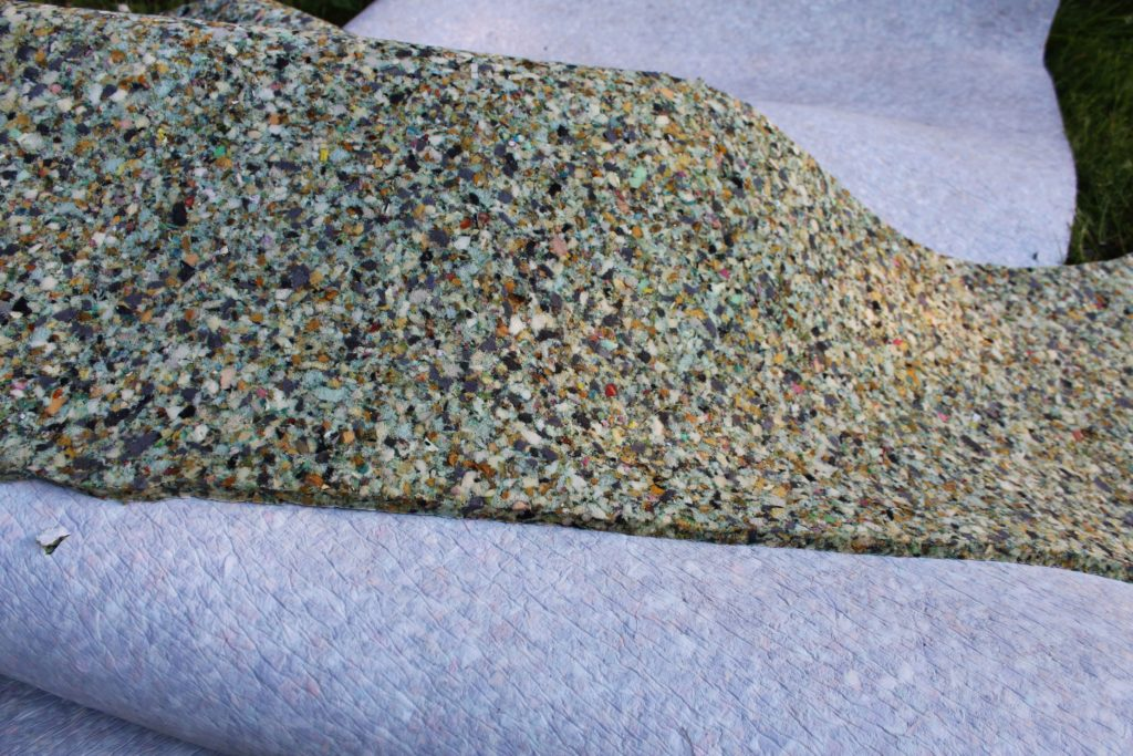 carpet pad for lily pad project