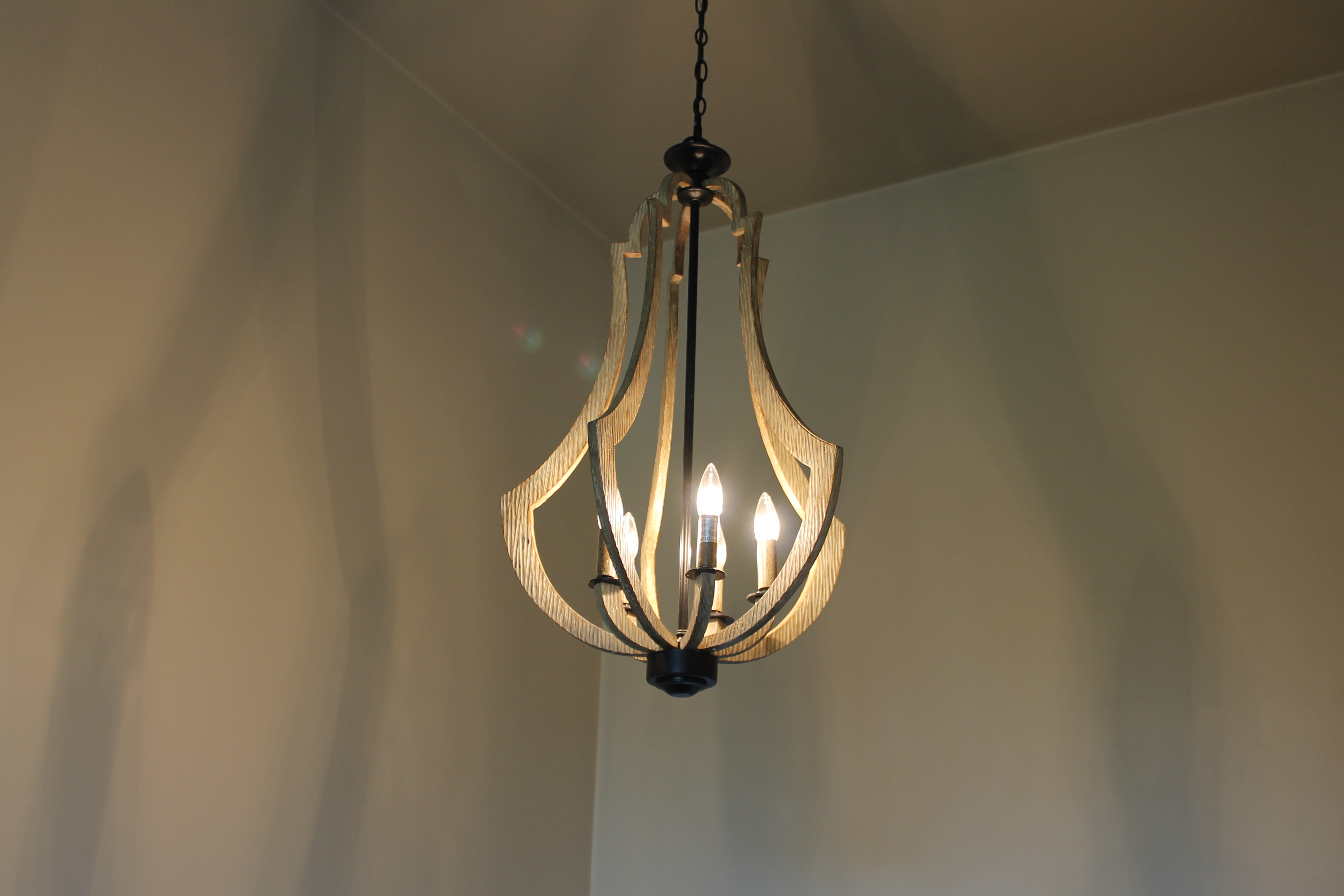 Foyer Lighting Trends : Great lighting at amethyst drive katie jane interiors