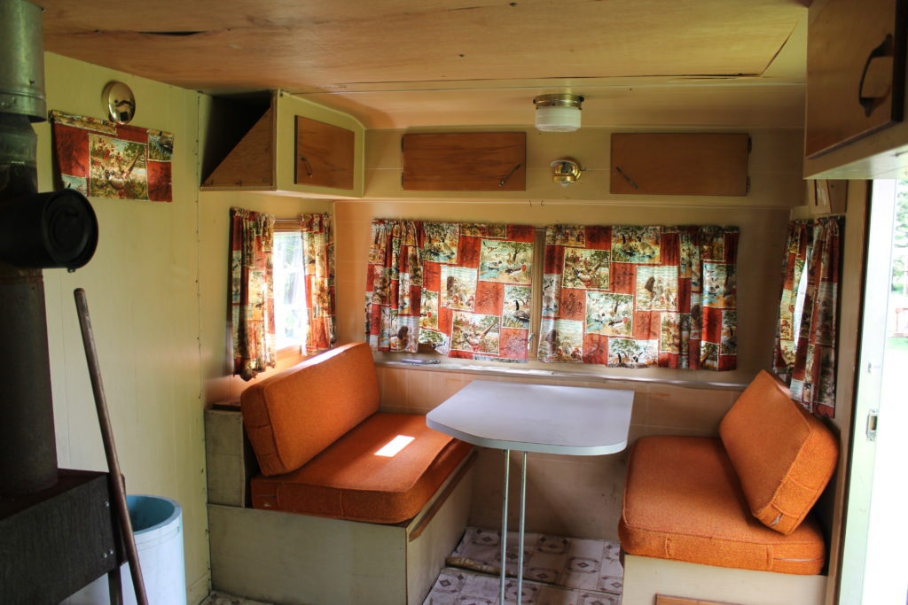 trailblazer camper interior before