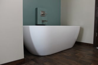 free standing tub at lamphere project