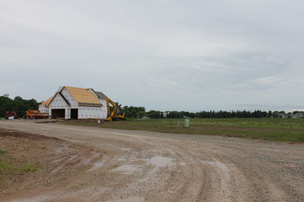 new homes under construction in parker farms, kimberly