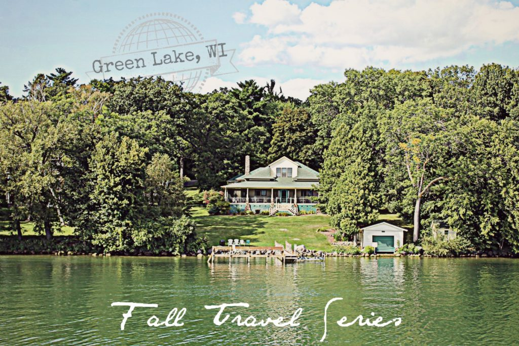 green-lake-wi-lake-side-cottage-really-green-water-fall-travel-series