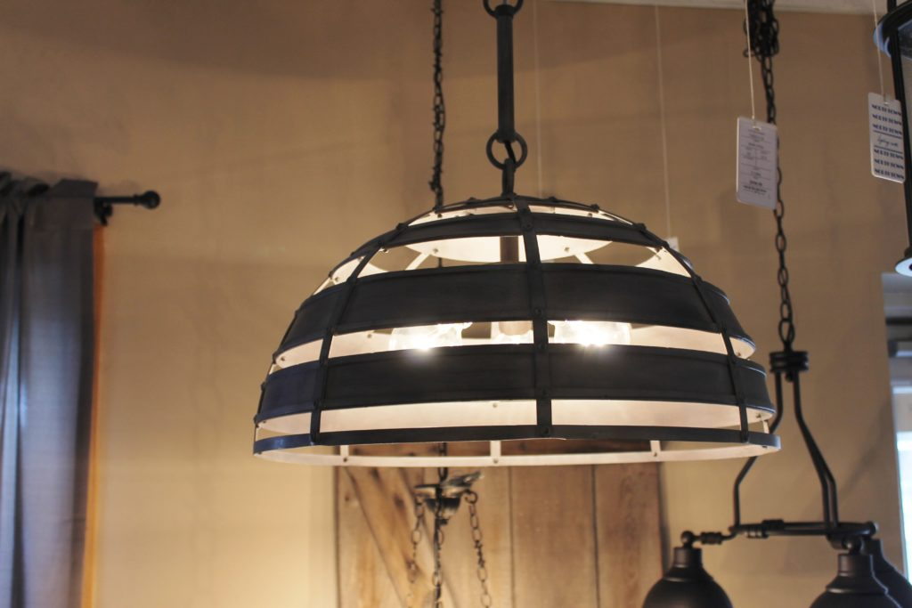 round-crate-looking-dome-accent-hanging-light