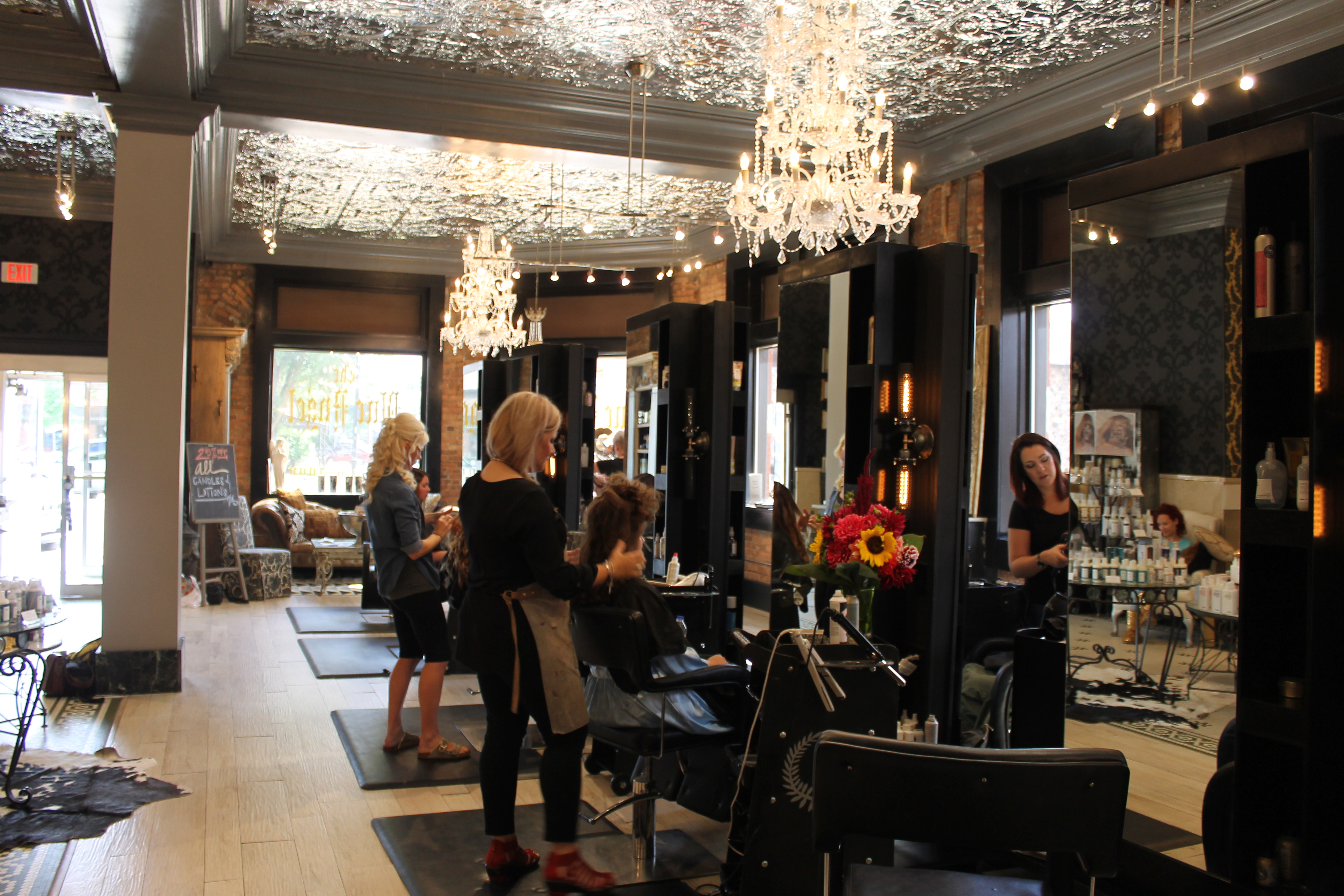 Four Design Trends The Blue Angel Salon Is Rocking Right