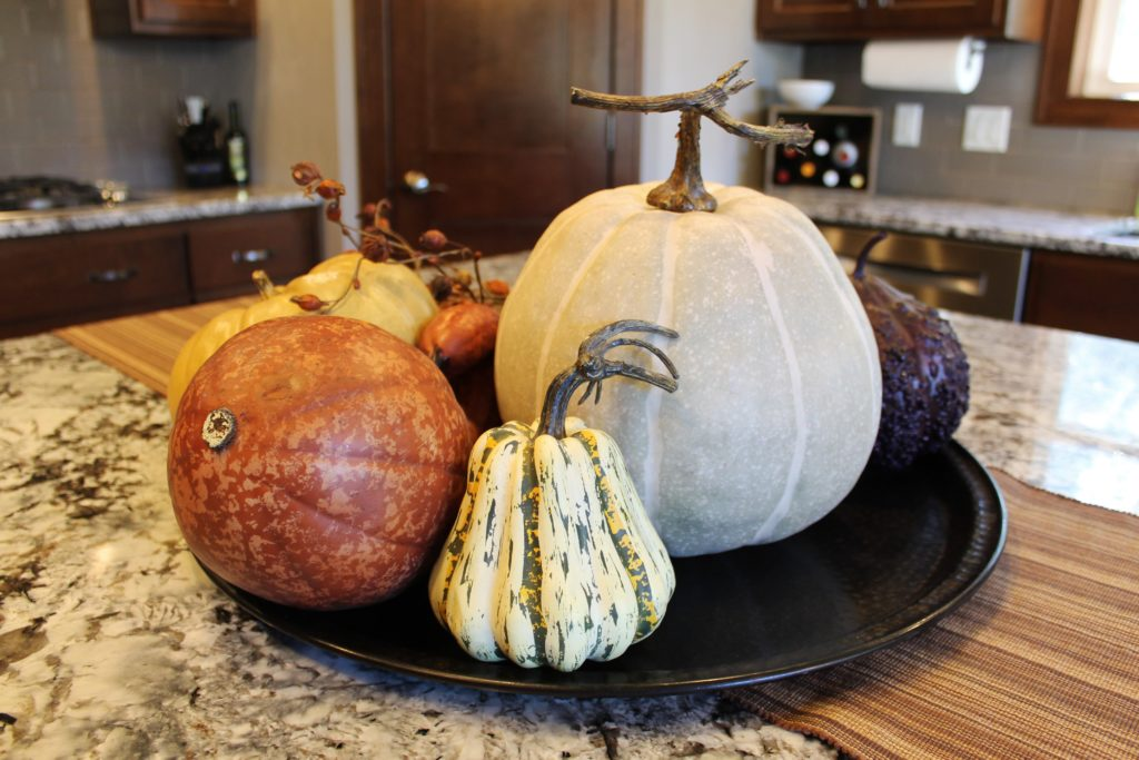 faux-pumpkins-on-island-at-the-millers