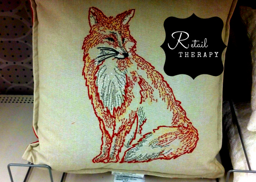 fox-pillow-from-target-with-retail-therapy-logo-in-black