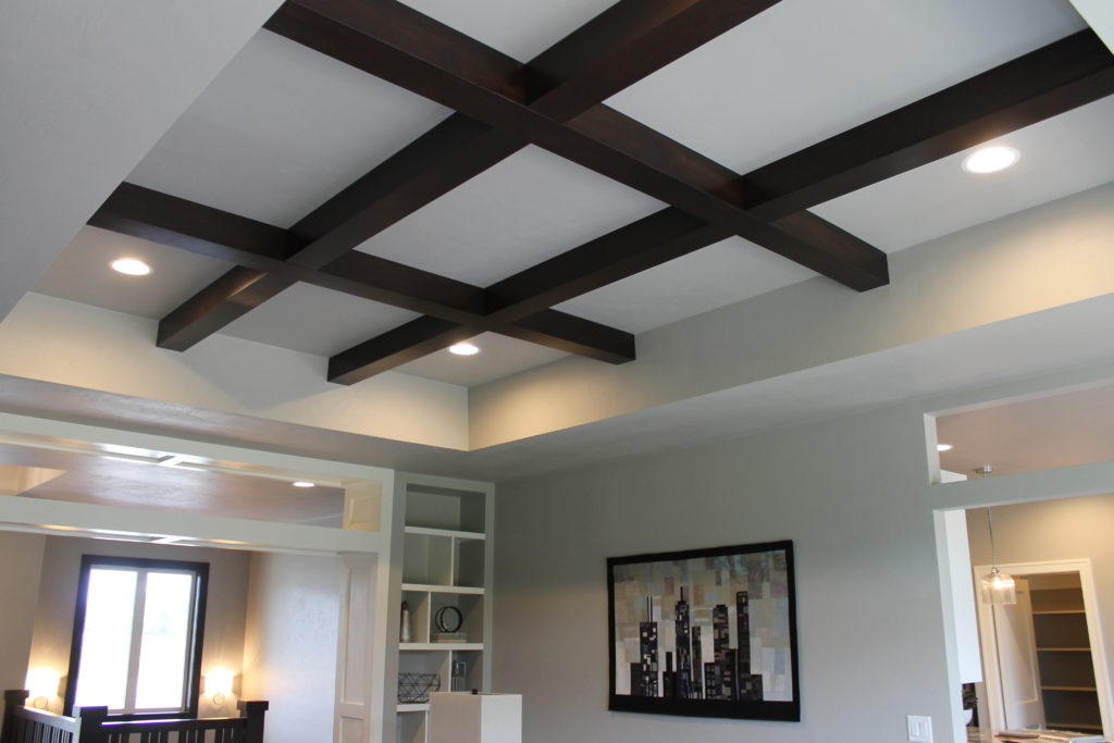 wood-coffered-ceiling-with-beams-showcase-home-fall-2016