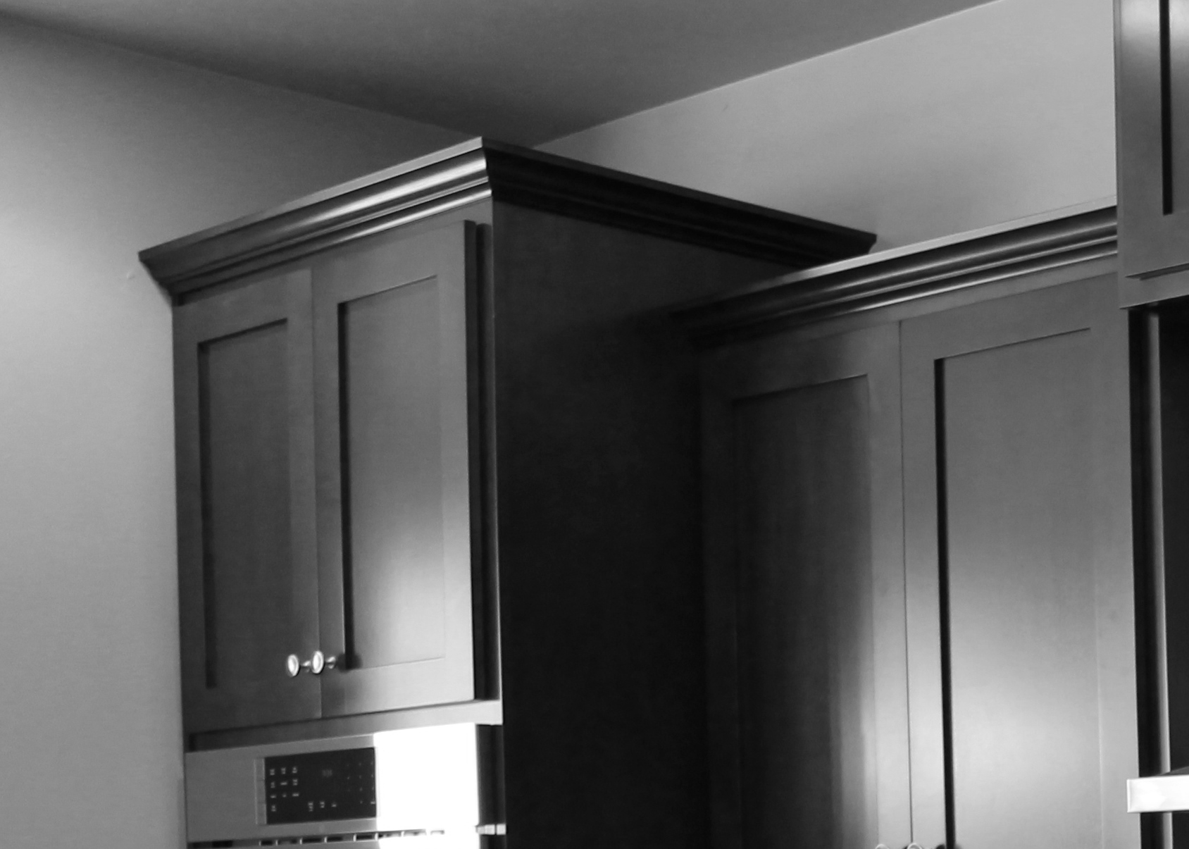 and there you have a very brief and simple to the different crown moldings you can adorn the tops of your custom cabinets with