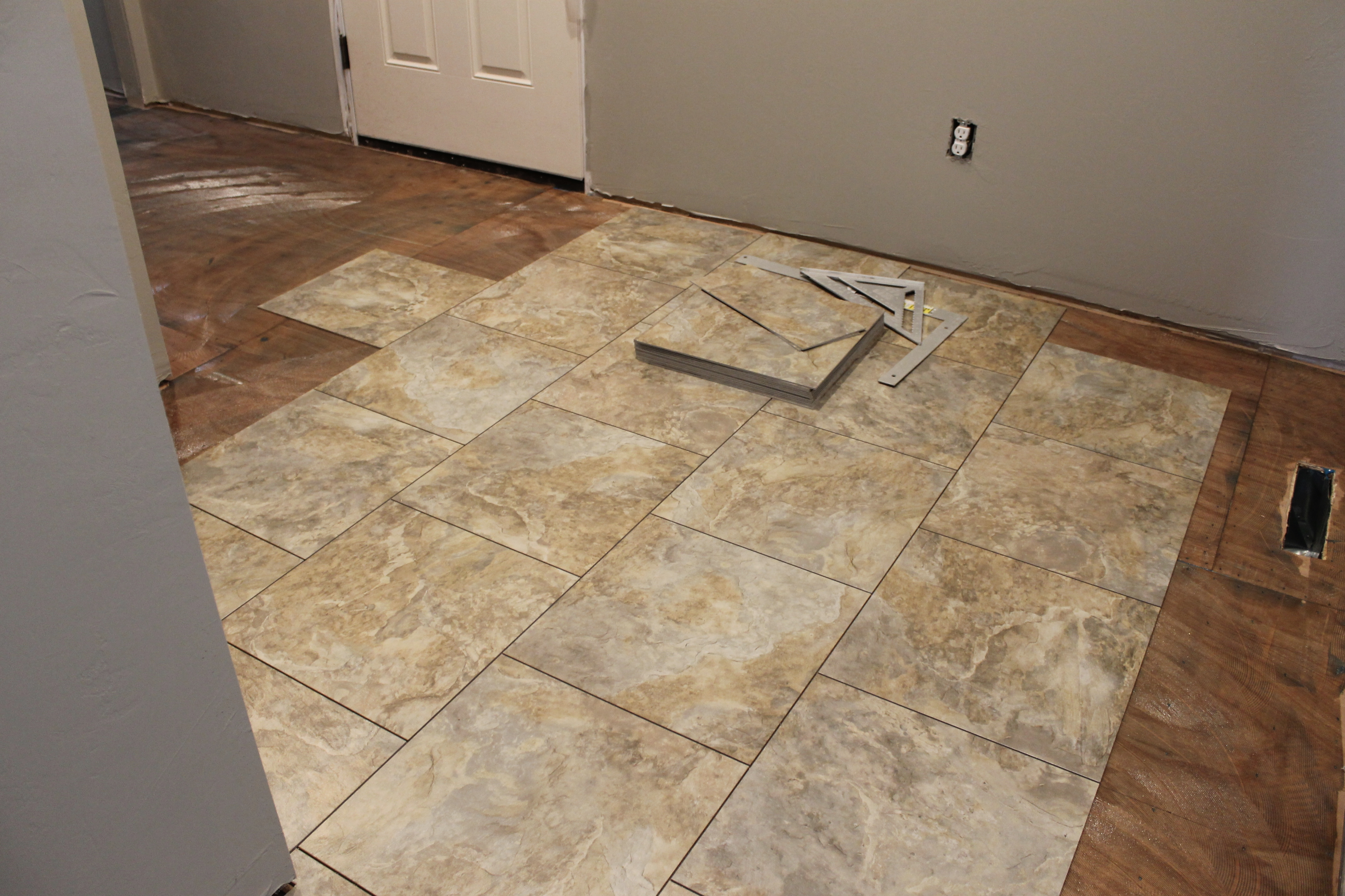 What all went down this week on our parker way two story for Down floor