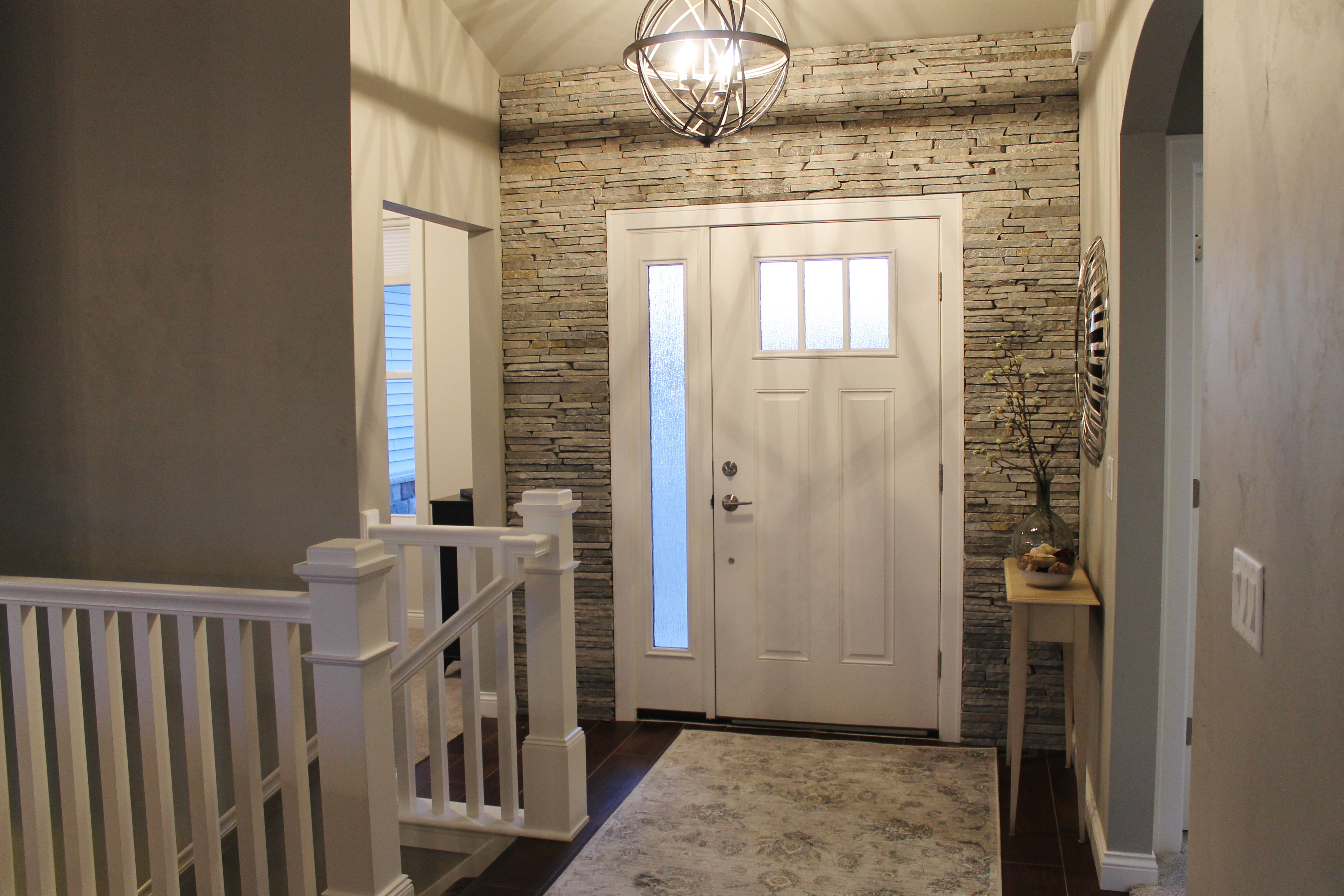 Stone Foyer Entrance : How to make an entrance katie jane interiors