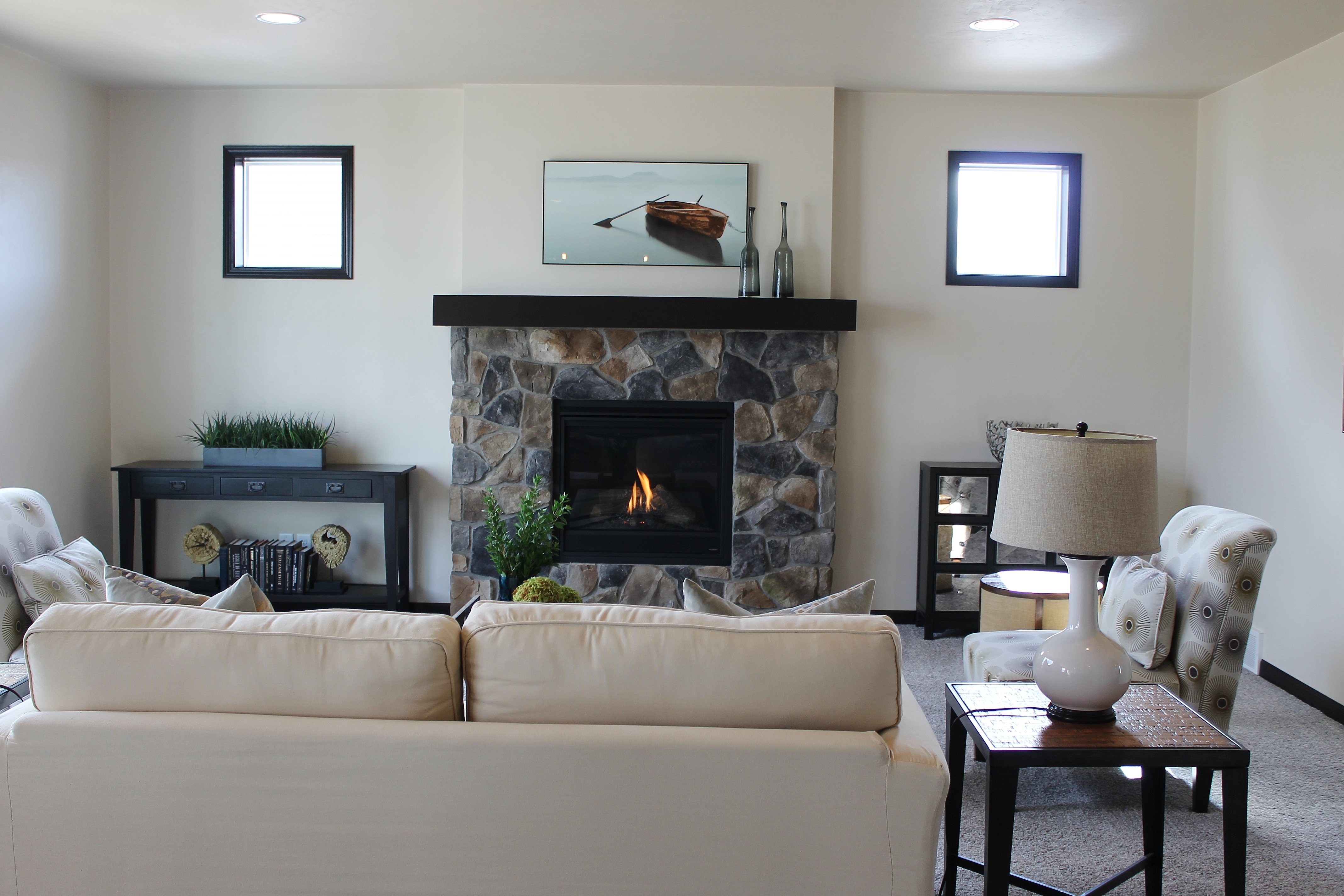 Fireplace Designs and the Rustic Mantel Trend! – Katie Jane Interiors