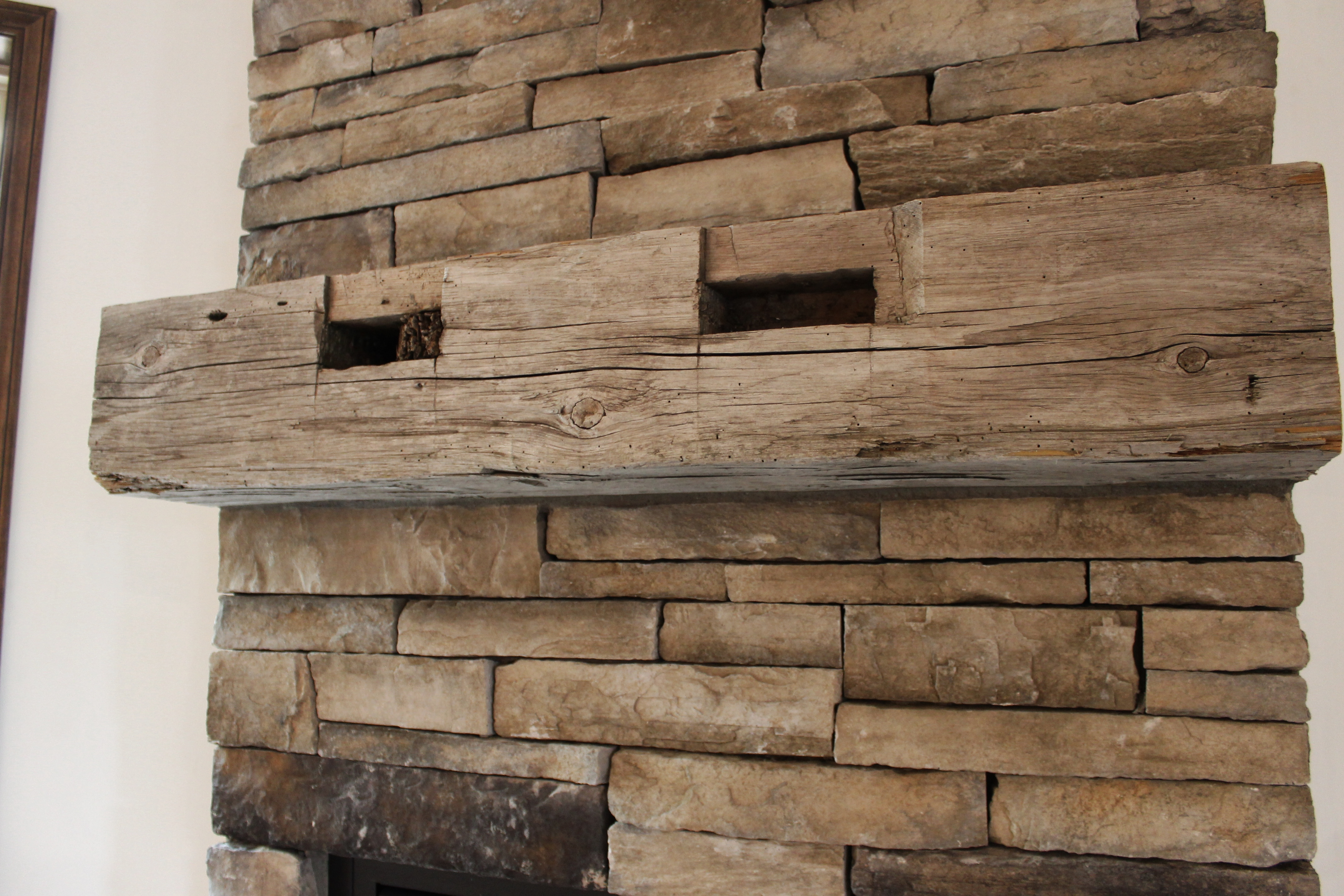 Fireplace Designs And The Rustic Mantel Trend Katie Jane Interiors